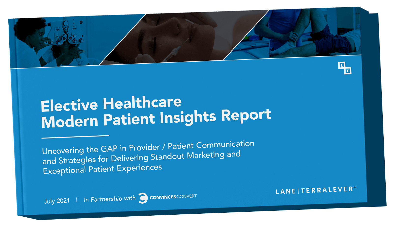 healthcare modern patient insights report cover