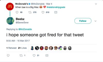 McDonald's Social Example