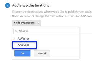 audience destinations