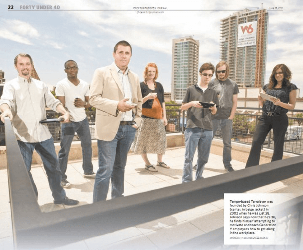 Chris Johnson recognized in Phoenix Business Journal's 40 under 40