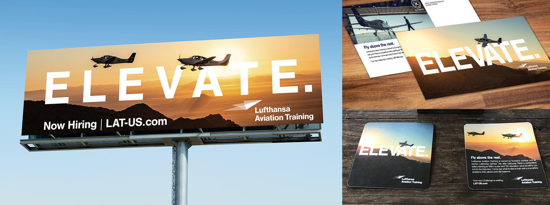 Lufthansa Aviation Training Media Strategy for Recruitment