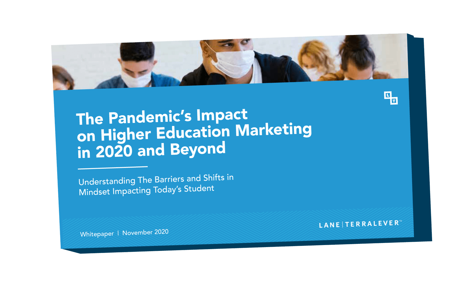 White paper cover the pandemic's impact on Higher Education Marketing in 2020 and beyond