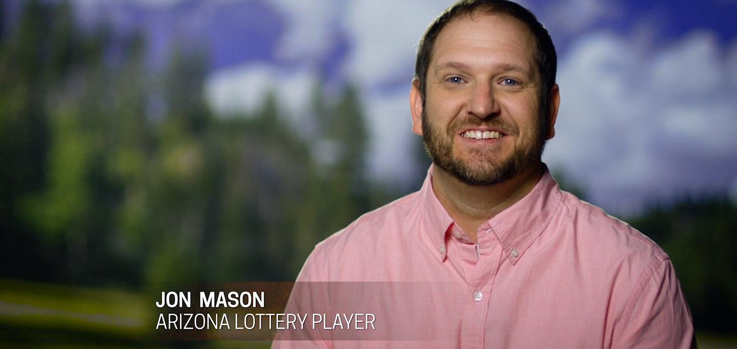 Jon Mason AZ Lottery player