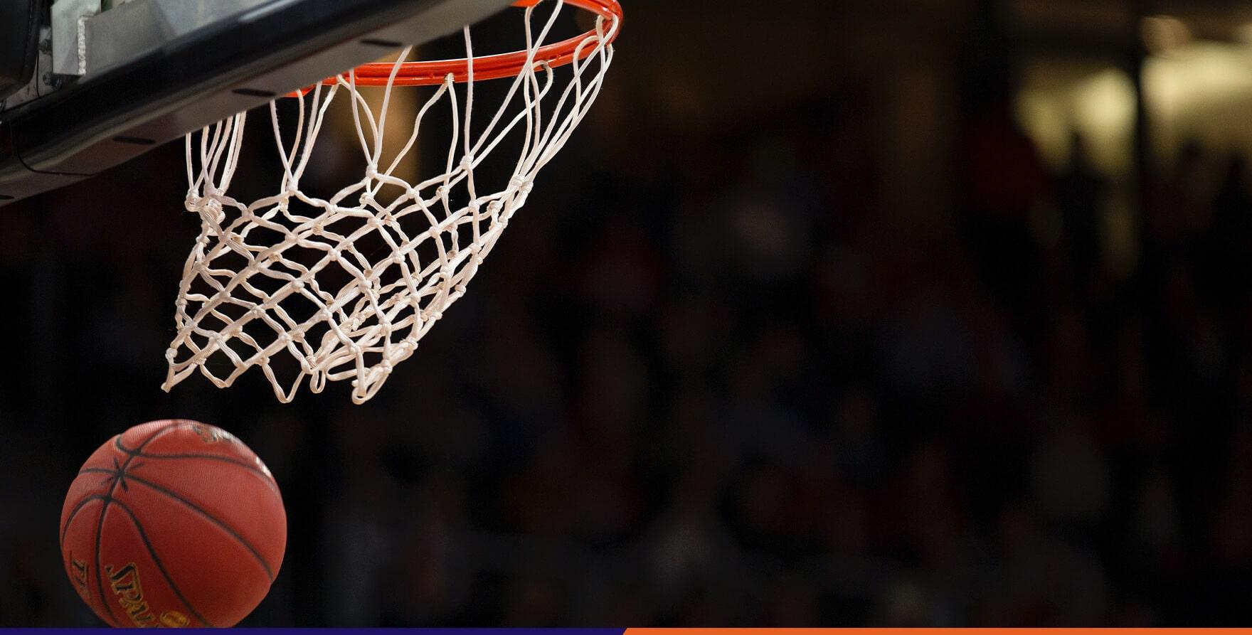 Phoenix Suns basketball hoop