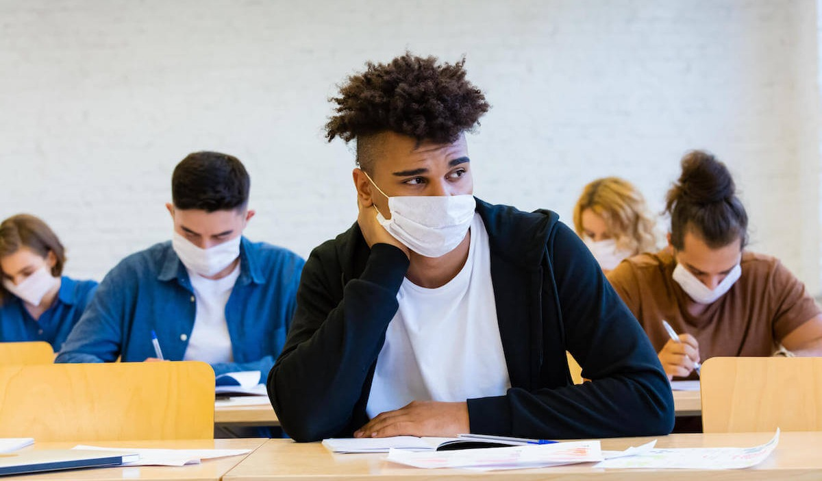 higher education student during pandemic