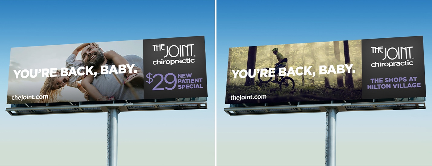The Joint billboard